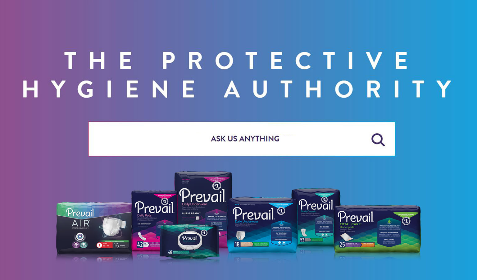 Prevail® The Protective Hygiene Authority